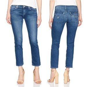 Hudson Bailee Midrise Crop Baby Boot Stretch Jeans